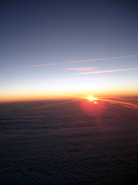 sunrise plane screenshot