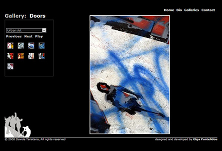 davidetarsitano.co.uk galleries screenshot