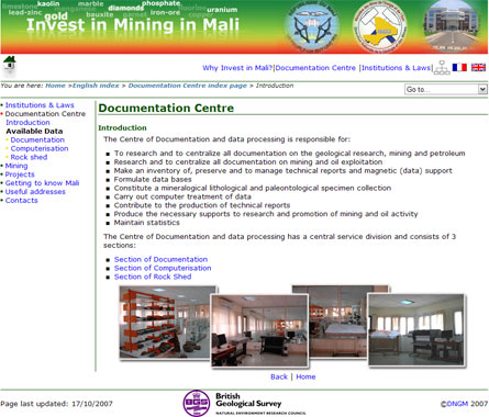 bgs.ac.uk/mali screenshot